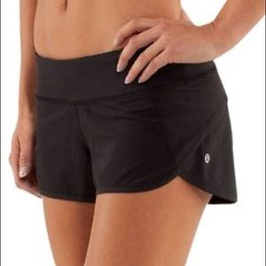 Lululemon speed shorts | black | sz 4